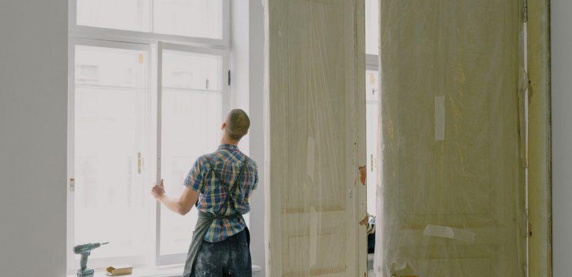 pose de fenêtre