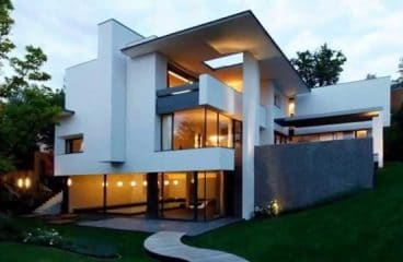 Qu'est-ce qui caractérise une maison contemporaine ?